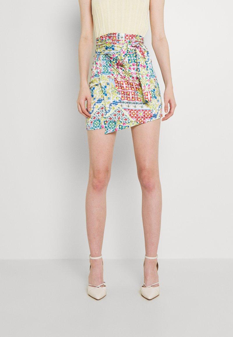 Never Fully Dressed - GRAPEFRUIT JASPRE - Wrap skirt - multi