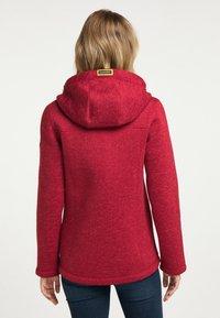 Schmuddelwedda - Fleece jacket - rot melange - 2