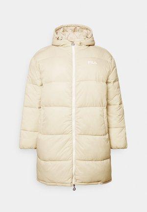 PUFF HOOD JACKET - Winter coat - irish cream