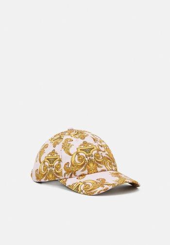 UNISEX - Cap - pink/gold