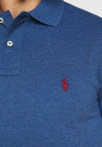 Polo Ralph Lauren - SLIM FIT MESH POLO SHIRT - Koszulka polo - royal heather - 5