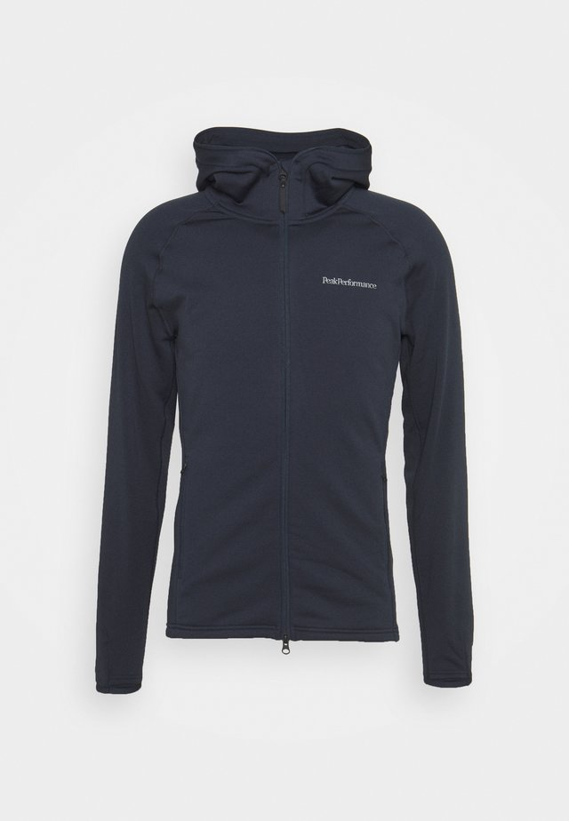 CHILL ZIP HOOD - Fleece jacket - blue shadow