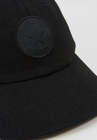 Converse - MONO CHUCK BASEBALL UNISEX - Cap -  black - 2