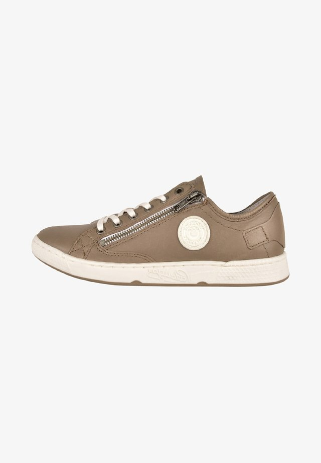 JESTER ZIP UP TRAINERS - Trainers - gray taupe