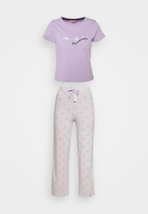 DAISY TEE & PANT  - Pijama - lilac/grey