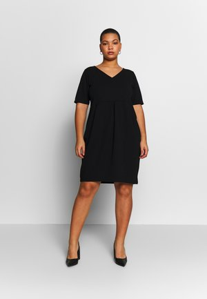 BASIC JERSEY DRESS - Jerseyjurk - black