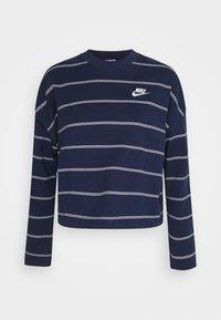 Nike Sportswear - STRIPE - Jumper - midnight navy/white - 7