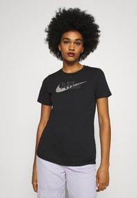 Nike Sportswear - ICON CLASH  - Print T-shirt - black - 0