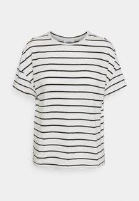 Opus - SILEIKA - Print T-shirt - white/black - 0