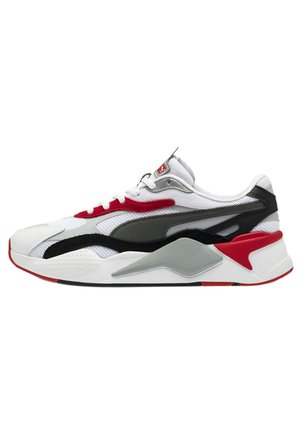 RS-X UNISEX - Sneakers basse - puma white-high risk red