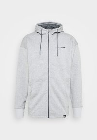 Under Armour - Zip-up hoodie - pitch gray light heather - 3