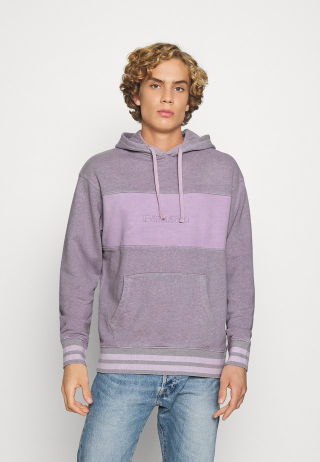 RELAXED FIT NOVELTY HOOD UNISEX - Sweat à capuche - lavender frost
