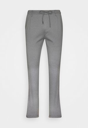 EBERLEIN WITH ROLL UP - Trousers - grey