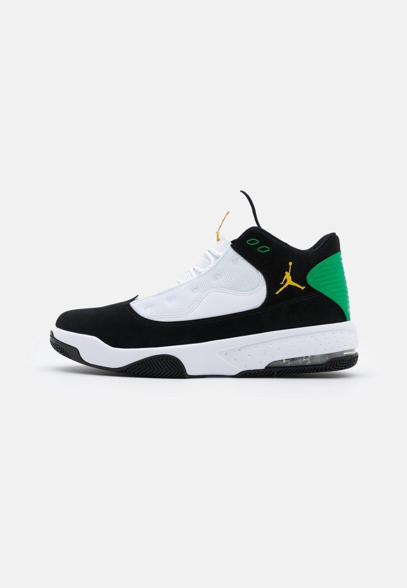 Jordan - MAX AURA 2 - High-top trainers - black/dark sulfur/white/lucky green