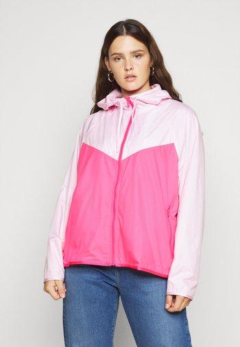 PLUS - Summer jacket - pink foam/hyper pink/white