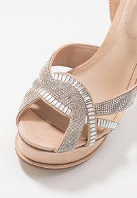 ALDO - LACLABLING - Sandaler med høye hæler - bone - 6