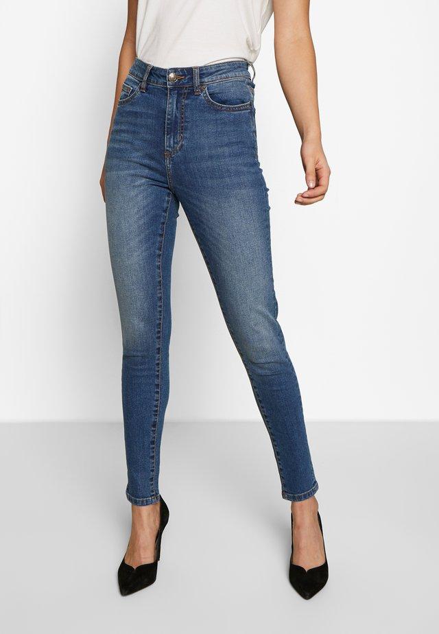 LADIES SKINNY - Jeans Skinny Fit - tinted mid blue