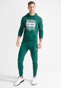 Superdry - Tracksuit bottoms - mid pine - 0