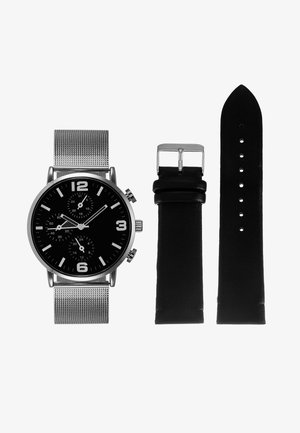 SET - Watch - dark blue/silver-coloured