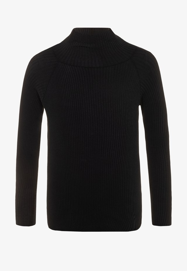 ROMAINE - Strickpullover - black