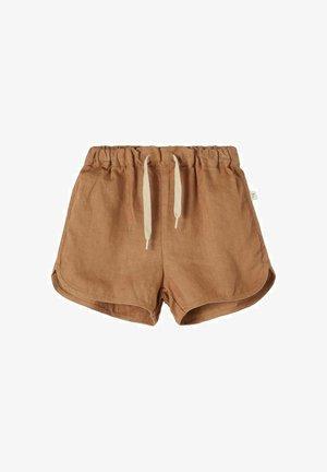 Shorts - tobacco brown