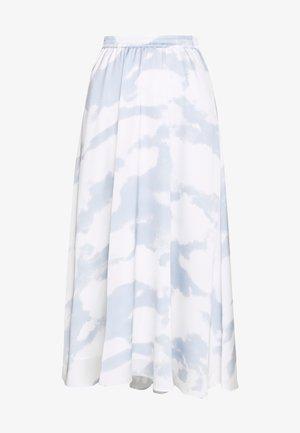 KACY MAXI SKIRT - Maxi skirt - light blue