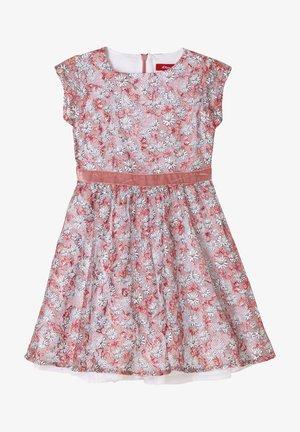 Korte jurk - blush aop