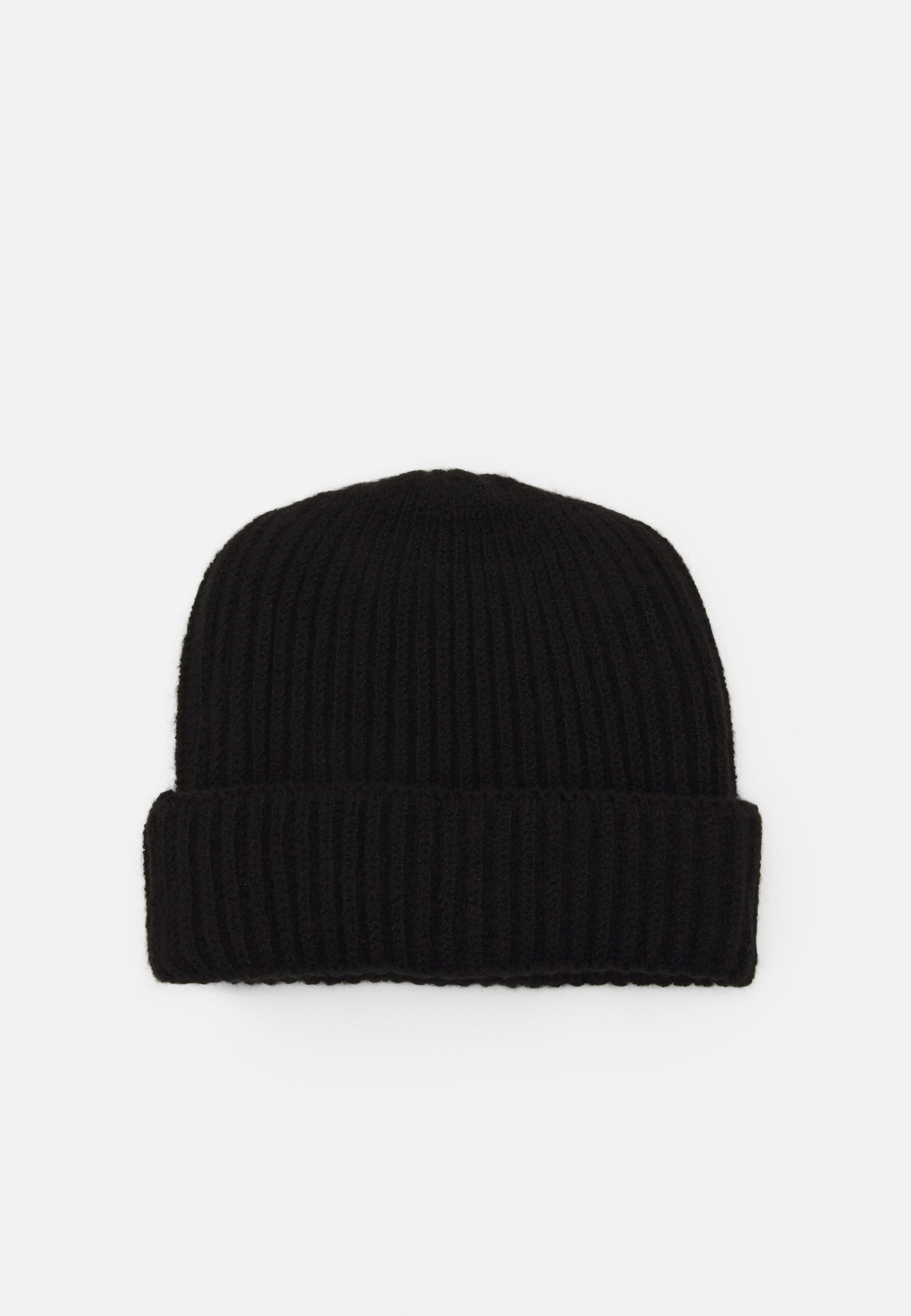 Topman Chunk Fluff Beanie - Mütze Black/schwarz