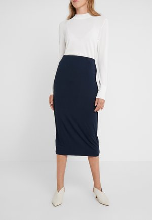 KACIE - Pencil skirt - navy blazer