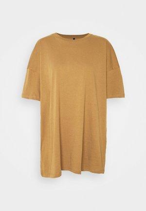 ONLMAYA LIFE OVERSIZE - Basic T-shirt - toasted coconut