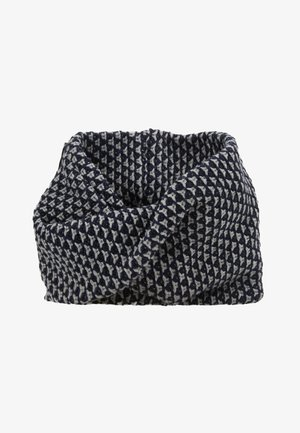 Snood - grey melange/navy
