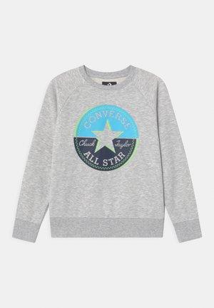 CHUCK PATCH CREWNECK - Sweatshirt - mottled grey