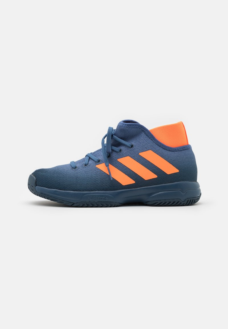 adidas Performance - JR UNISEX - Multicourt tennis shoes - crew navy/orange/crew blue