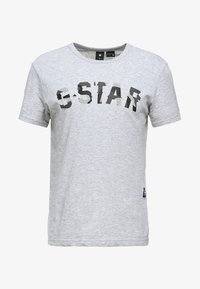 G-Star - GRAPHIC 10 R T S\S - Camiseta estampada - grey heather - 3