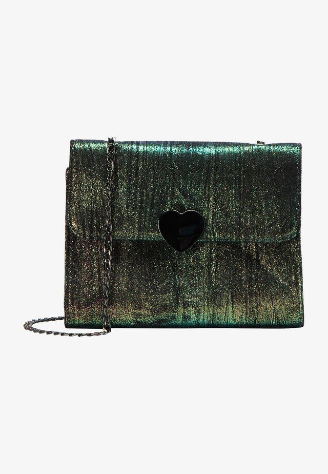 Taška spříčným popruhem - grün multicolor