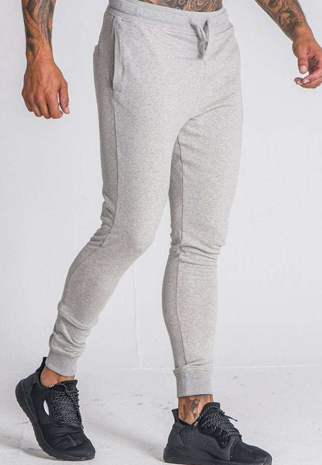 WINNERS PLANET - Tracksuit bottoms - grey melange