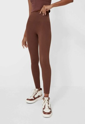 Leggings - Trousers - camel