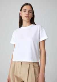 EDITED - SELENA - Basic T-shirt - white - 0