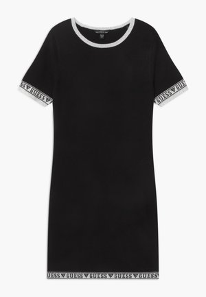 JUNIOR - Jumper dress - jet black