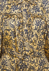 sandro - Shirt dress - doré/bleu - 6