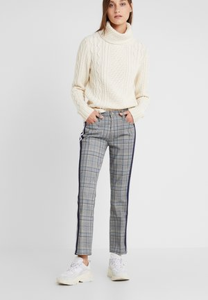 THE INSIDER - Trousers - grey/blue