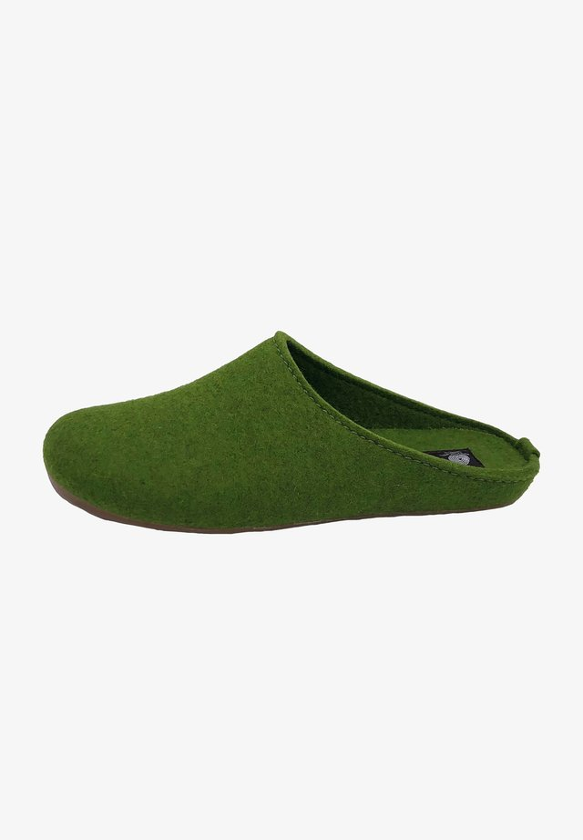 Mules - grasgrün