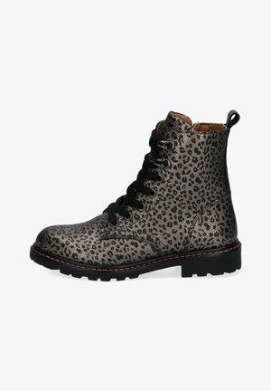Lace-up ankle boots - grijs