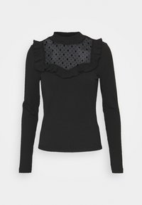 ONLY - ONLSOPHIA FLOUNCE - Long sleeved top - black - 3