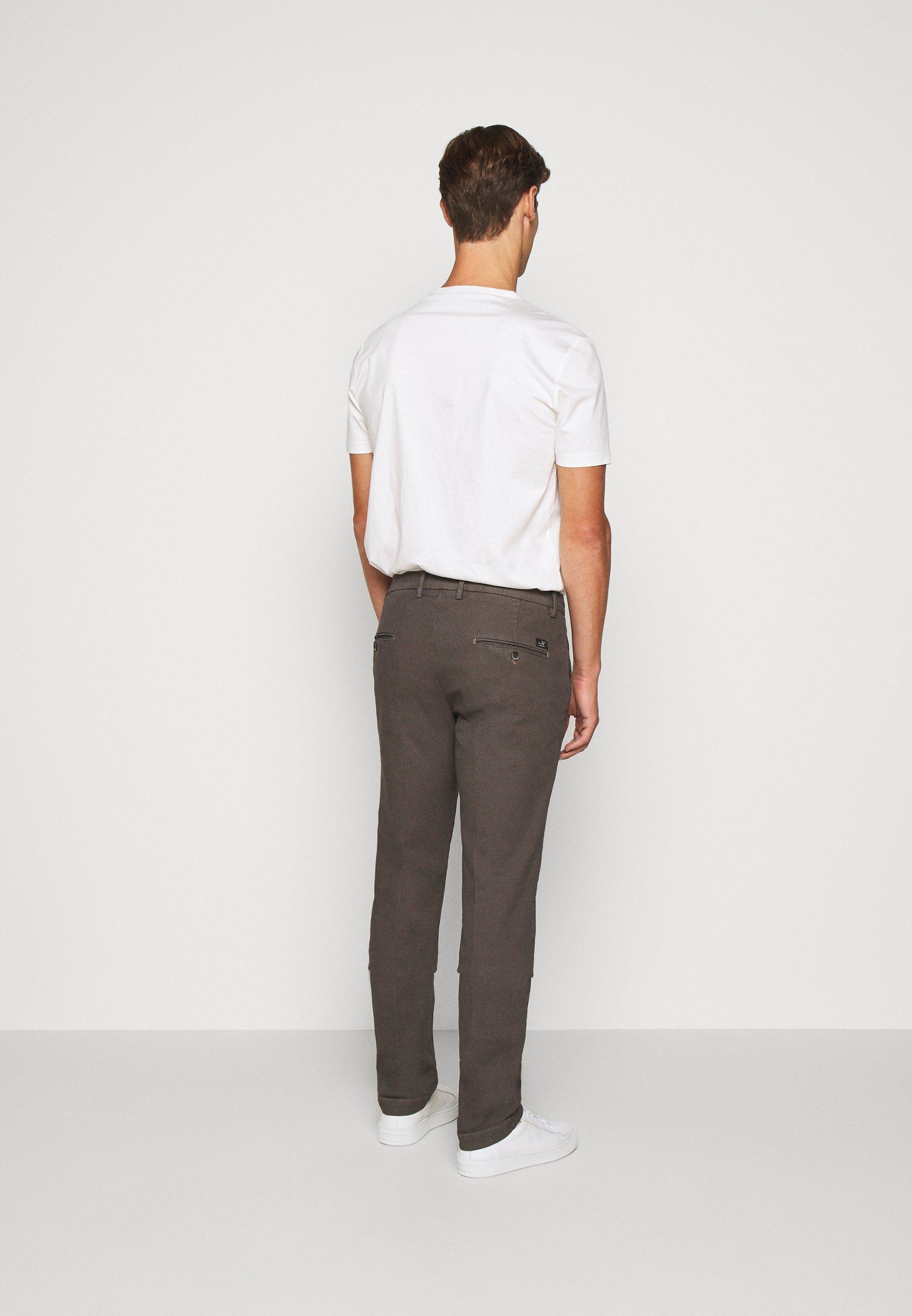 Mason's TORINO STYLE - Pantalon classique - anthracite oZHJorXC