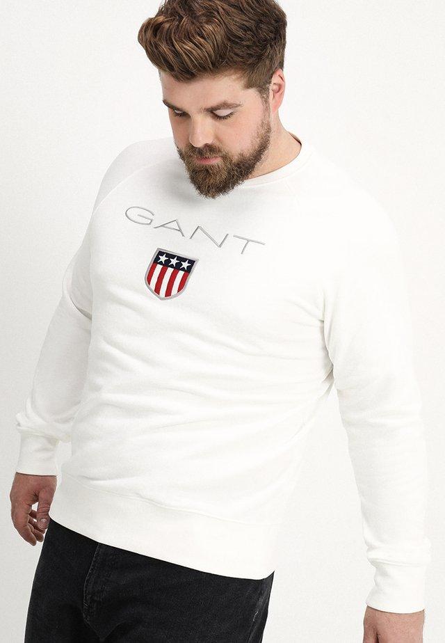 SHIELD C NECK - Sweatshirt - eggshell