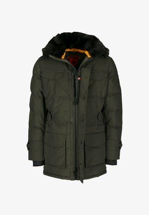 SEAMASTER STROBO AIRTEC - Winter coat - dark green