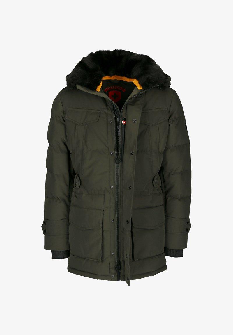 Wellensteyn - SEAMASTER STROBO AIRTEC - Winter coat - dark green