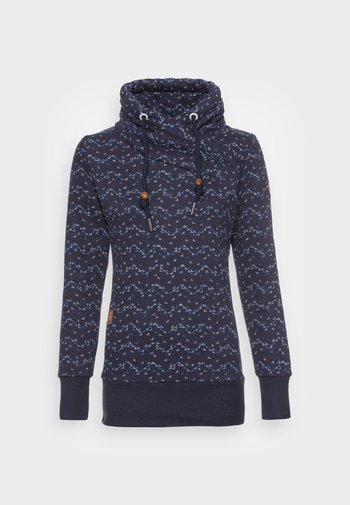 NESKA PRINT - Sweatshirt - navy