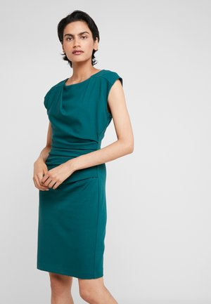 Shift dress - darkest green